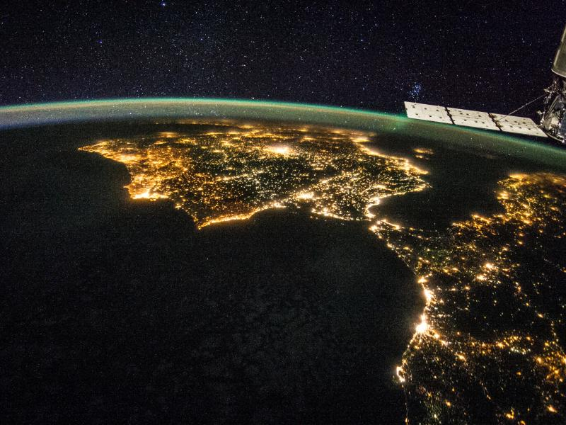 Spain from space